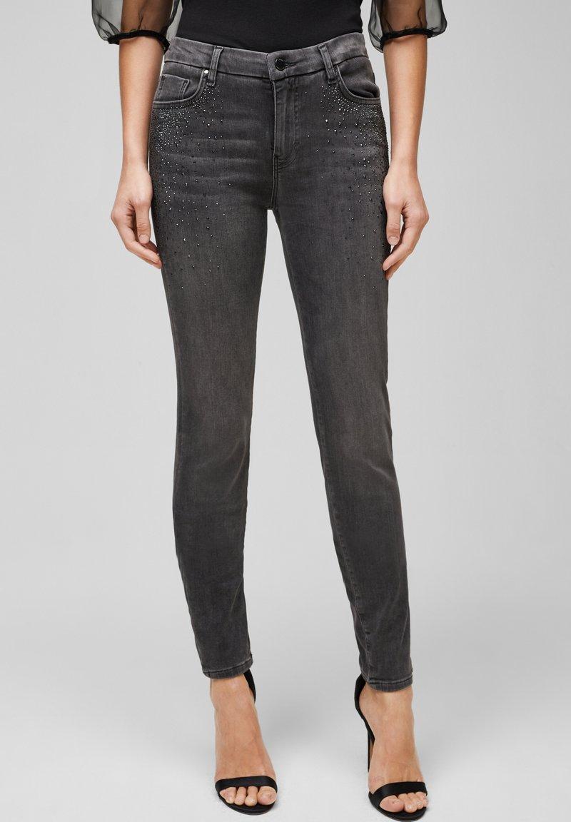 s.Oliver BLACK LABEL - Slim fit jeans - grey