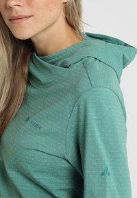 Vaude - WOMENS TUENNO PULLOVER - Long sleeved top - nickel green - 5