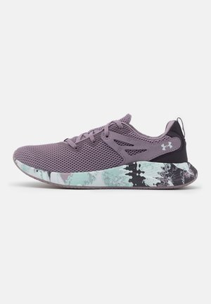 CHARGED BREATHE - Sports shoes - slate purple