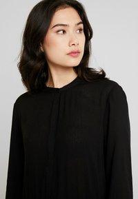 Freequent - FQFLOW SOLID - Shirt dress - black - 3