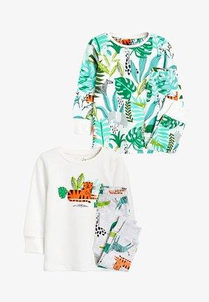 2 PACK - Pyjama set - green