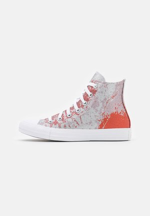 CHUCK TAYLOR ALL STAR SHIMMER AND SHINE - Sneakers alte - fire pit/himalayan salt/white