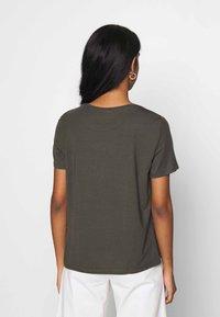 Vero Moda - VMAVA - Basic T-shirt - peat - 2
