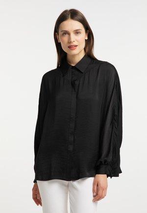 Overhemdblouse - schwarz