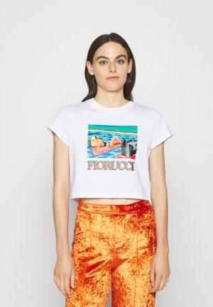 ANTONIO LOPEZ ARCHIVE SHRUNKEN TEE - Print T-shirt - white