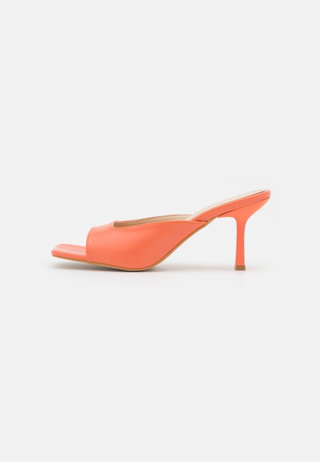 TURUNCU - Heeled mules - orange