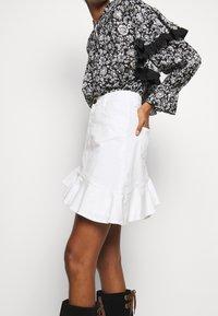 See by Chloé - Denimová sukně - confident white - 3