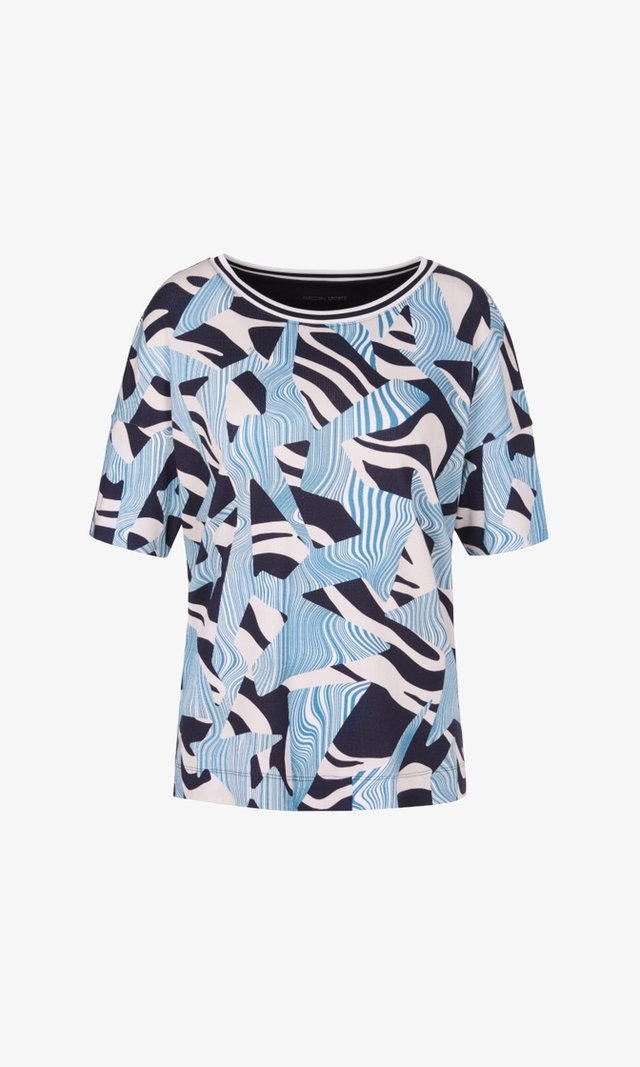 T-shirts med print - midnight blue