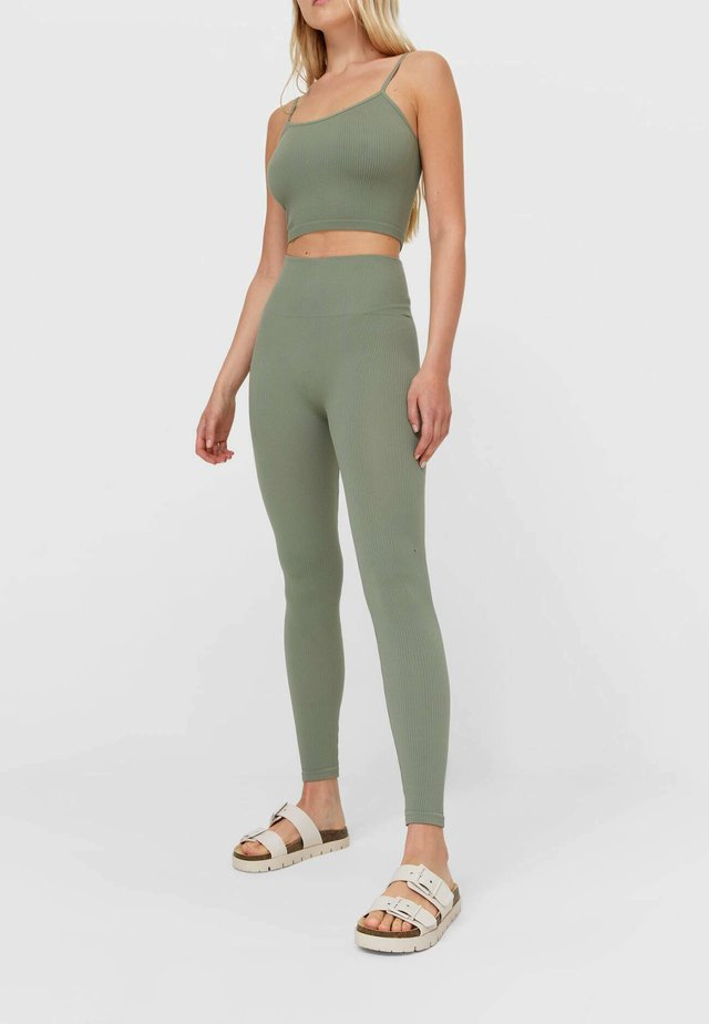 SET  - Legging - khaki