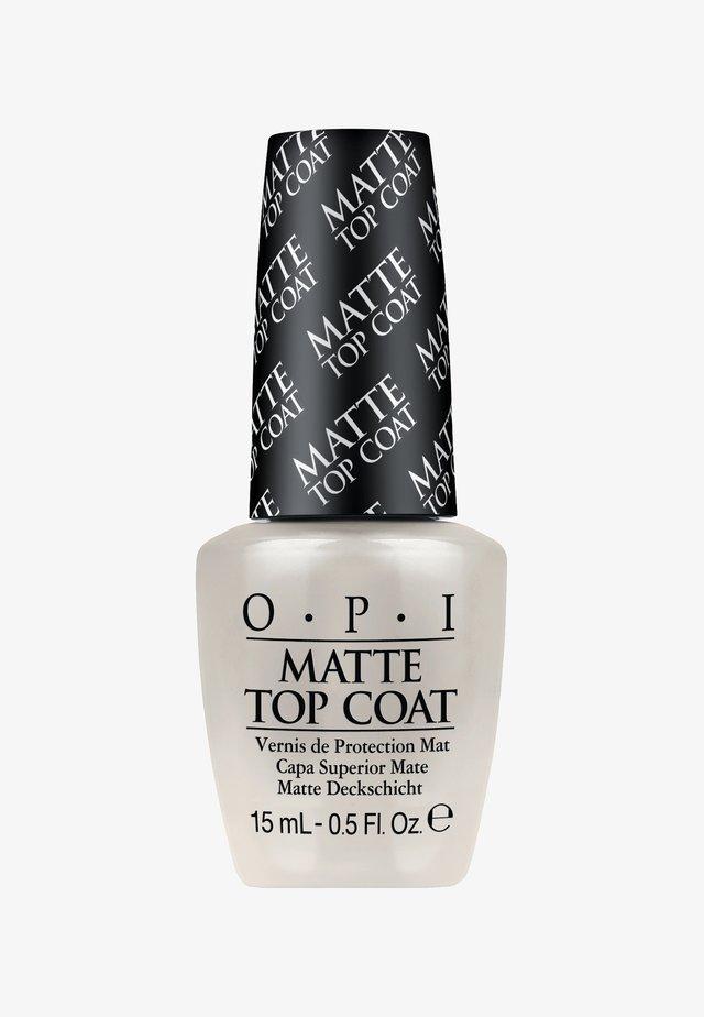 MATTE TOP COAT - Nagellak: top coat - NTT35