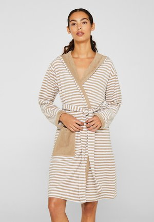 Dressing gown - light brown