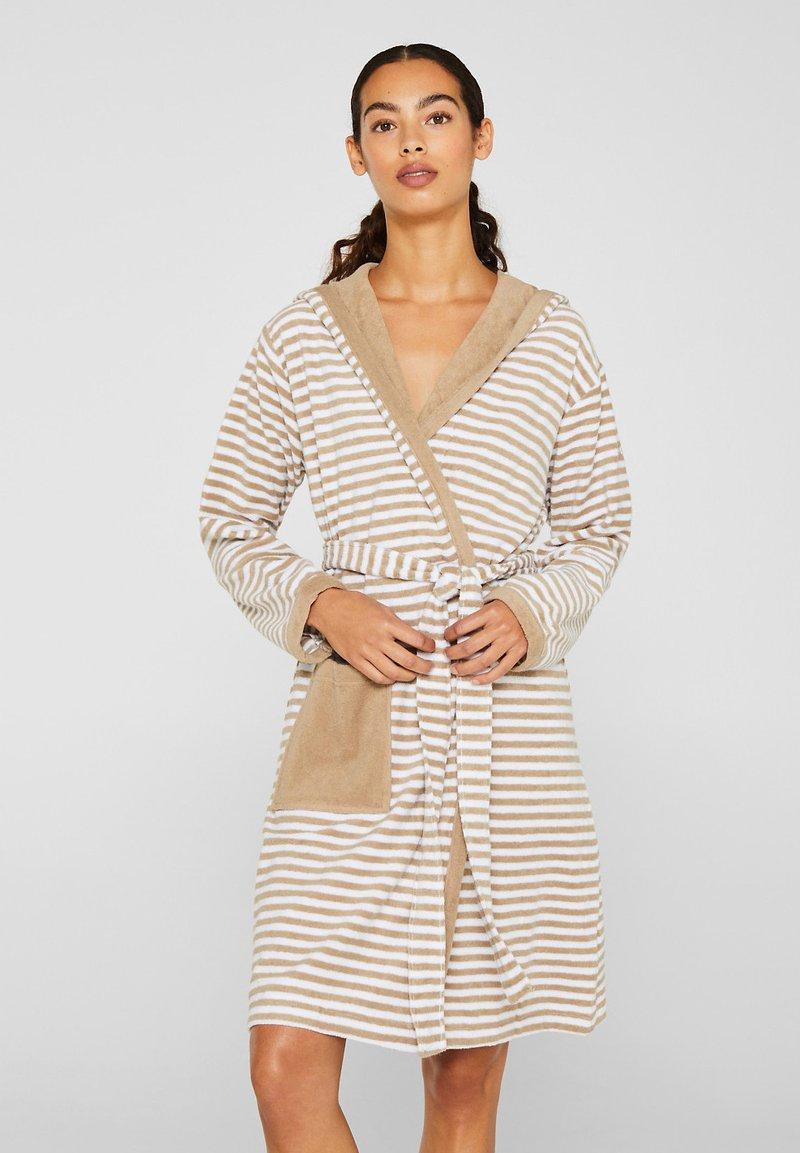 Esprit - Dressing gown - light brown