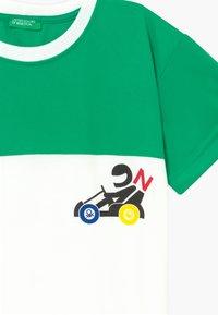 Benetton - Print T-shirt - green - 3
