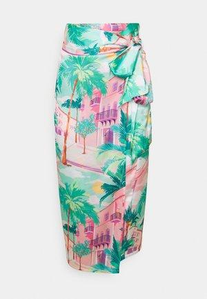 SUMMER RAINBOW JASPRE - Wrap skirt - multi