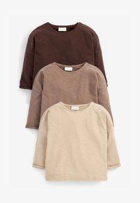 Next - Long sleeved top - dark brown - 0