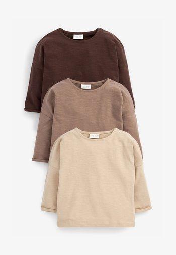 Pitkähihainen paita - dark brown