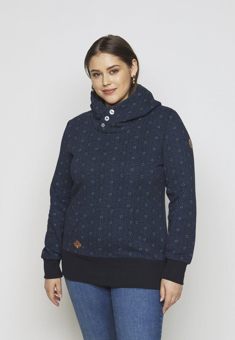 Ragwear Plus - CHELSEA - Sweatshirt - navy