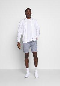 Selected Homme - SLHSTRAIGHT PARIS  - Shorts - blue - 1