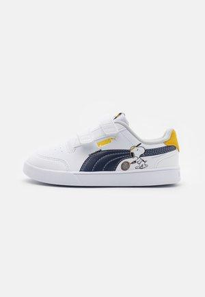 PEANUTS SHUFFLE UNISEX - Zapatillas - white/black