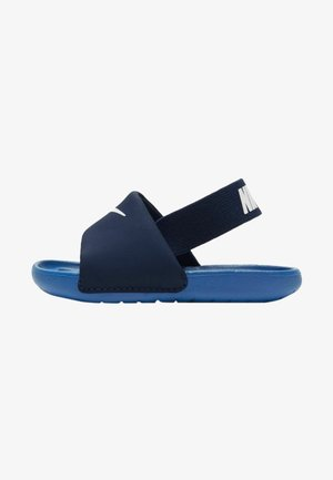 Walking sandals - blue void/signal blue-pure platinum