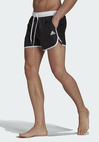 adidas Performance - Swimming shorts - black - 0