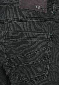 Cecil - Slim fit jeans - grau - 4