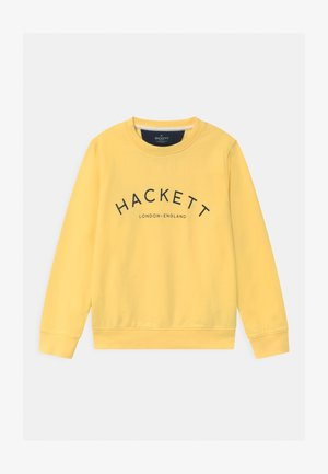 LOGO CREW - Sweatshirt - lemon