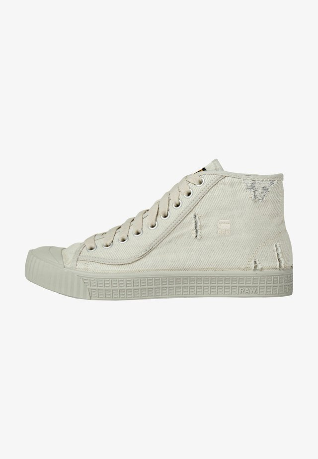ROVULC 50 YEARS DENIM MID SNEAKERS - Sneakers hoog - ecru