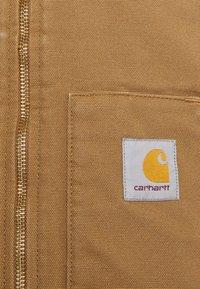 Carhartt WIP - CLASSIC VEST DEARBORN - Väst - hamilton brown rinsed - 2