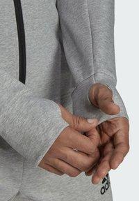 adidas Performance - M MT FZ HD - Zip-up sweatshirt - grey - 4