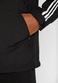 adidas Performance - 3-STRIPES LINING WINDBREAKER - Wiatrówka - black/white - 6
