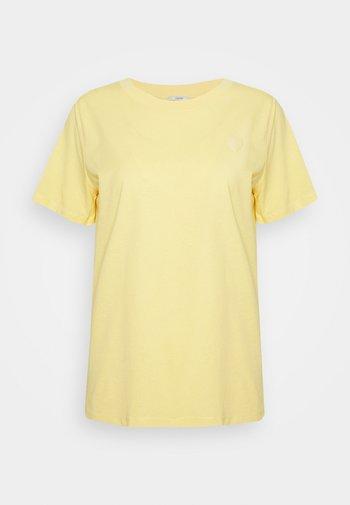 Jednoduché triko - sunflower yellow