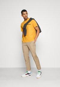 Napapijri The Tribe - YOIK UNISEX - Print T-shirt - yellow solar - 1
