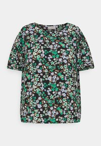 ONLY Carmakoma - CARANEMONY TOP - T-shirts med print - black - 3