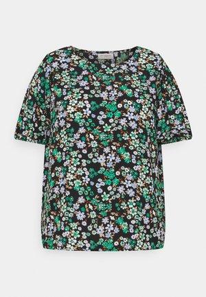 CARANEMONY TOP - T-shirts med print - black