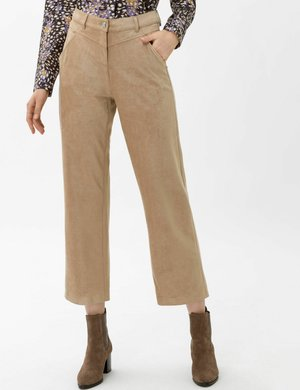 STYLE MAINE S - Trousers - caramel