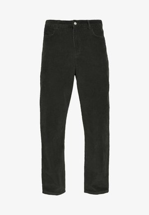 HAROLD CORD TROUSERS - Trousers - dark green