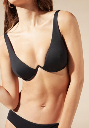 Bikini top - nero