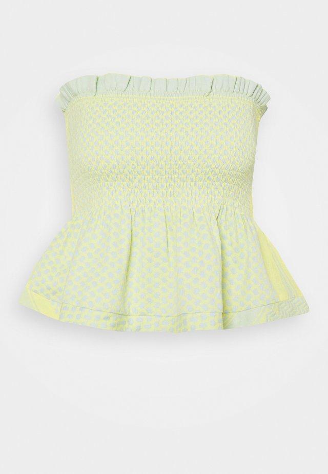 SHARON - Linne - canary yellow