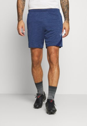 DRY ACADEMY SHORT - Pantalón corto de deporte - blue void heather/white