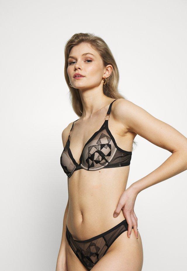 DÉSIR GRAPHIQUE UNDERWIRE BRA - Underwired bra - noir