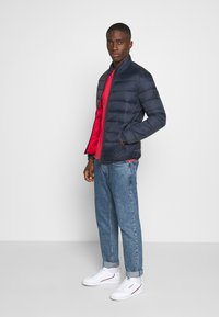 Jack & Jones - JJEMAGIC PUFFER COLLAR  - Light jacket - navy blazer - 1