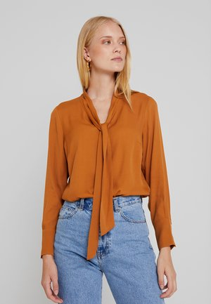 Blouse - amber gold