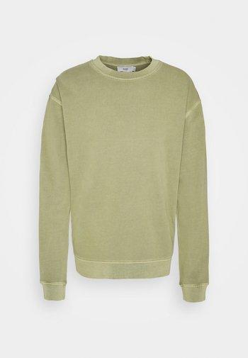 Sweatshirt - green bark