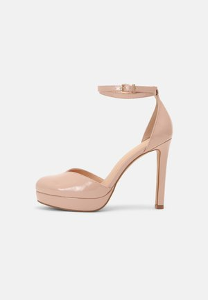 Platform heels - light pink