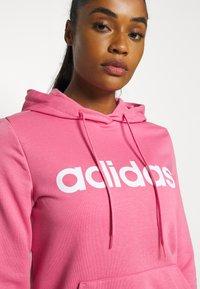 adidas Performance - Hoodie - rose tone/white - 4