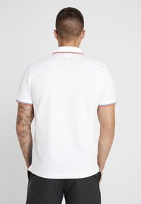 Lacoste Sport - POLO KURZARM - Poloshirt - white/geranium - 2