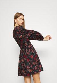 Diane von Furstenberg - BARBE DRESS - Day dress - punk medium black - 3