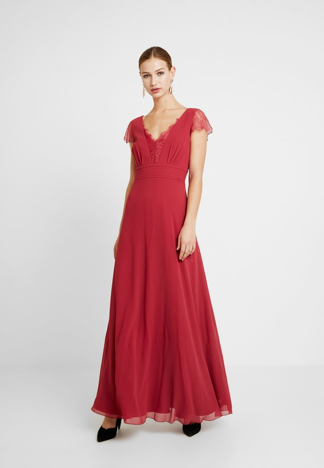 BIANCA TRIM DRESS - Robe de cocktail - raspberry