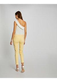 Morgan - Jeans Skinny Fit - yellow - 2